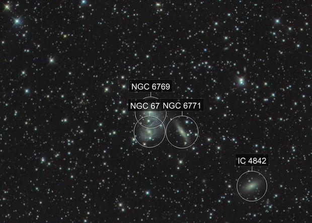 Galaxy Triplet NGC 6769-71