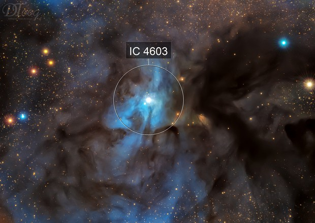 IC 4603 - Reflection Nebula in Ophiuchius