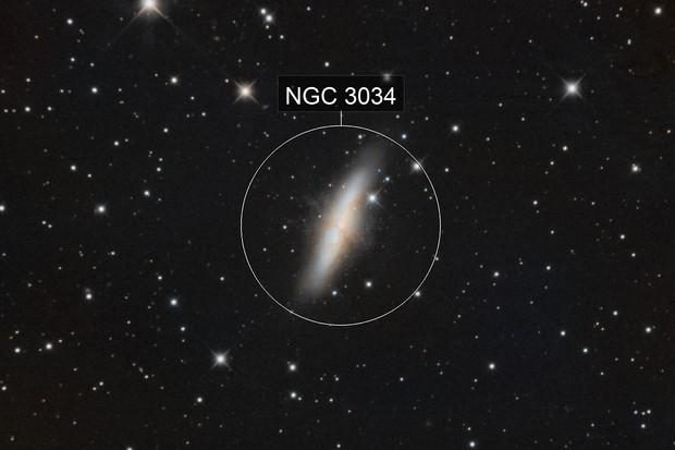 M 82 Cigar Galaxy