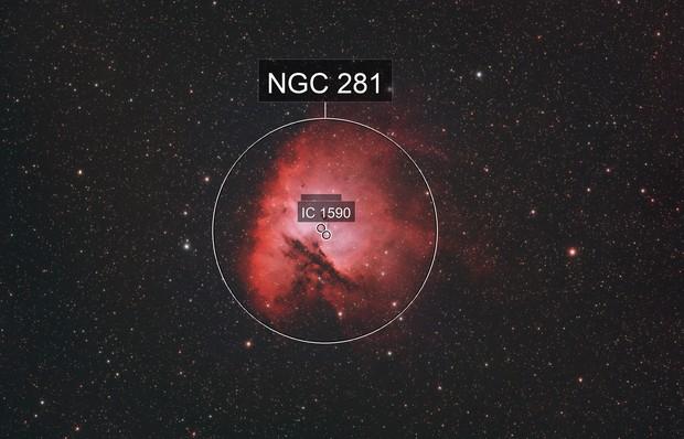 Pacman Nebula Ha + OIII