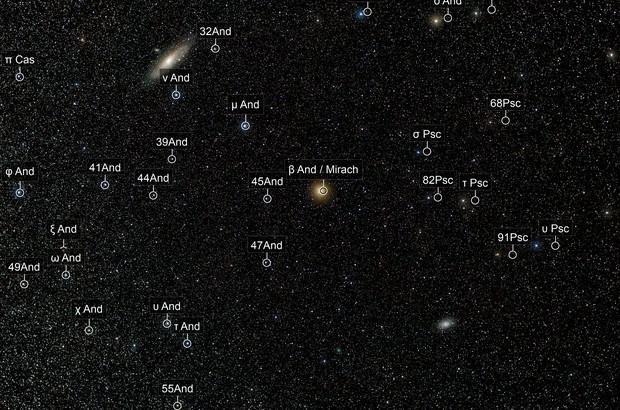 M31 - M33 - 64P/Swift–Gehrels
