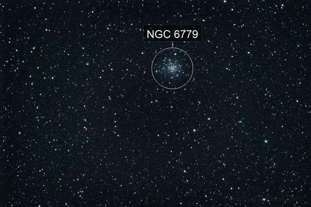 M56 a globular cluster in Lyra