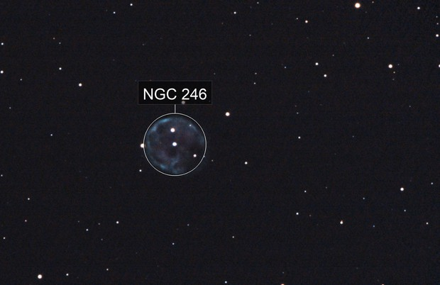 NGC 246 - Skull Nebula