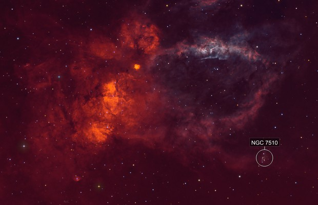 Backyard - The Lobster Claw Nebula