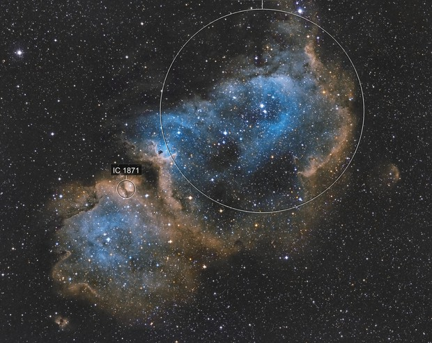 Soul Nebula (sh2-199) SHO
