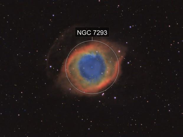 Helix Nebula LRGB