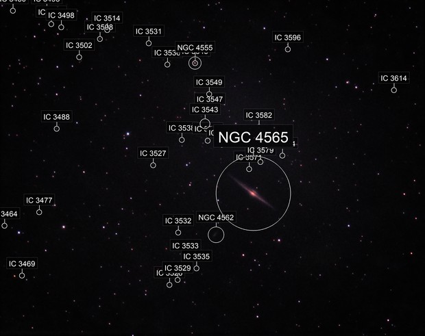 NGC 4565 - The Needle