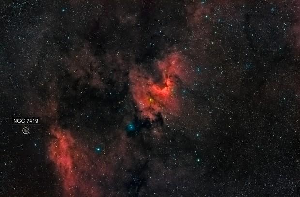 The Cave Nebula - Sh2-155