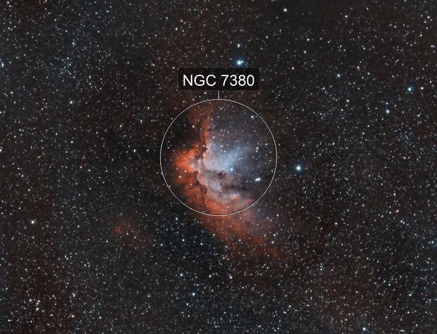 Wizard Nebula HOO
