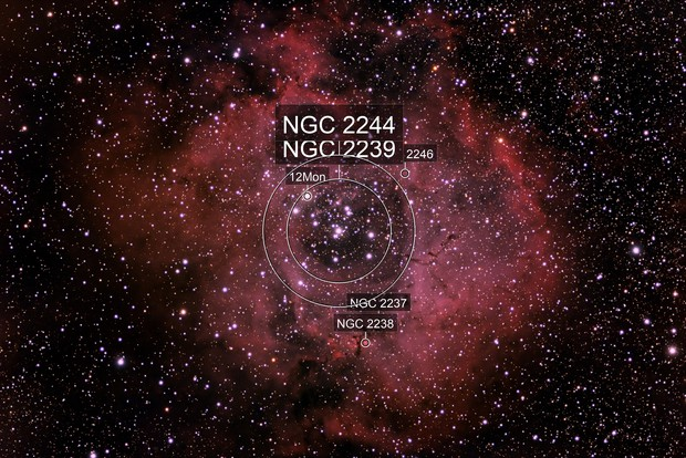 Rosette Nebula - NGC 2239