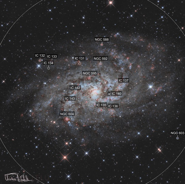 French Triangulum Galaxy
