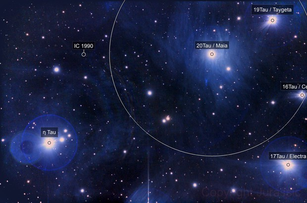 """M 45 """"part of a cluster"""""""