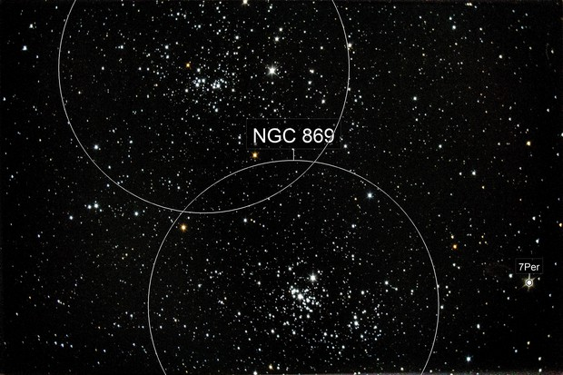Double cluster in Perseus (NGC 869 and NGC 884)