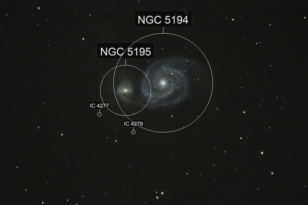 M-51 Whirlpool galaxy
