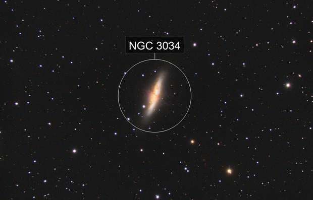 M82 Cigar Galaxy
