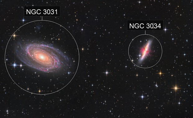 M81, M82 and Co.