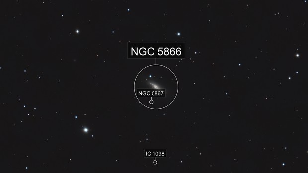 M102 - NGC 5866 - Spindle Galaxy