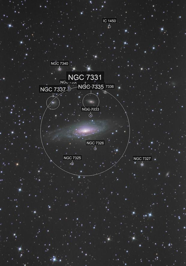 NGC7331 LRGB