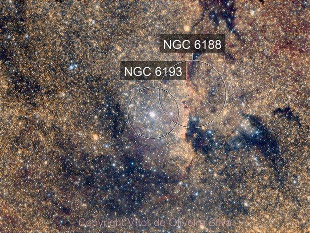 A look at NGC 6193 - Color CCD