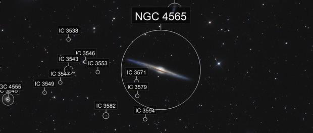 NGC4565 La galaxie de l'aiguille (crop)