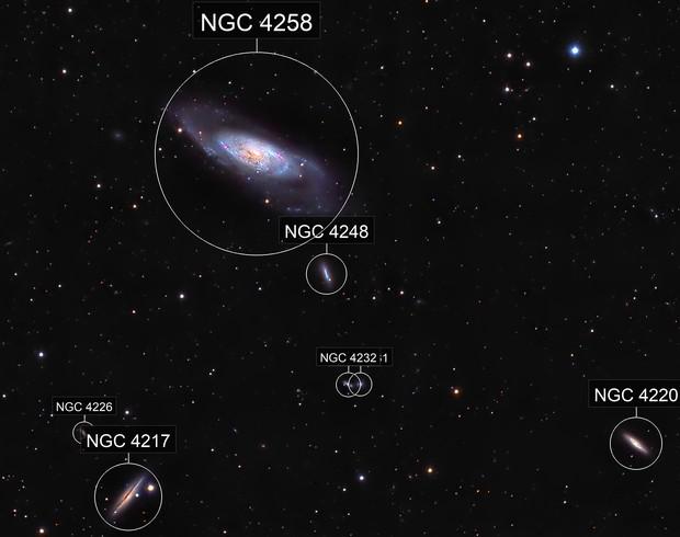 Messier106 en HaLRVB crop
