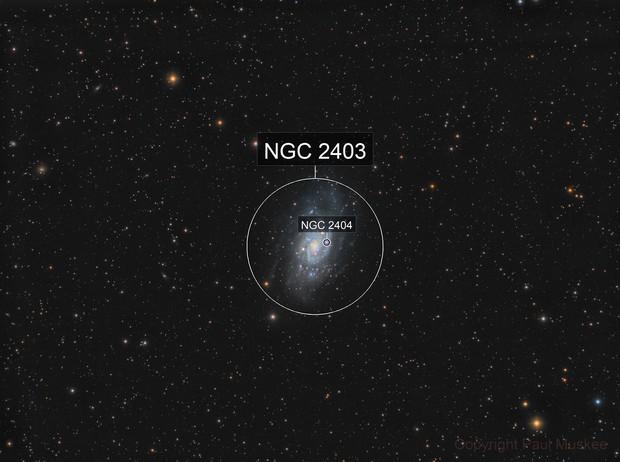 NGC 2403 LRGB