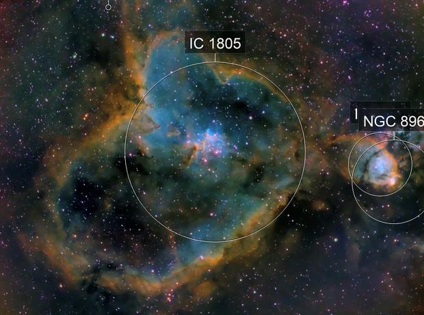 NGC1805 - Heart Nebula