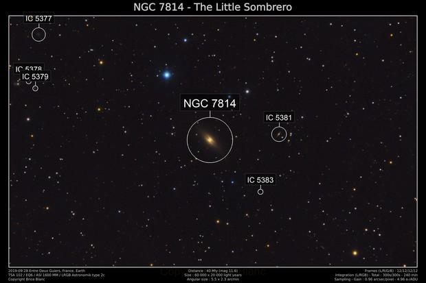 NGC 7814 - The Little Sombrero