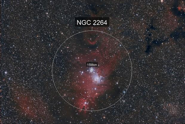 NGC 2264-nébuleuse du cône