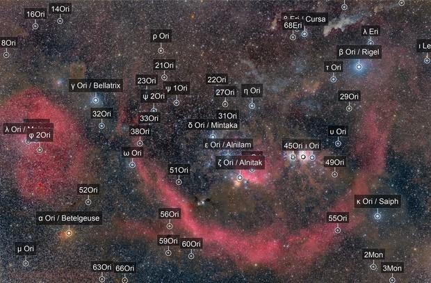 Orion Constellation Portrait!