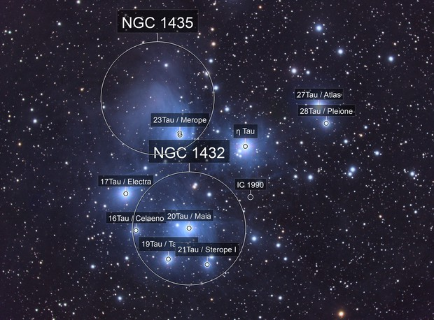 Pleiades-2019 (w/ using the ED80)