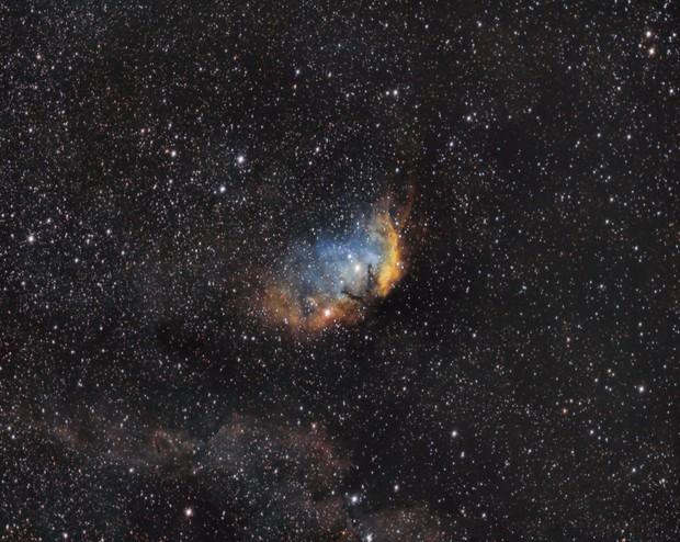 Tulip Nebula SH 2-101