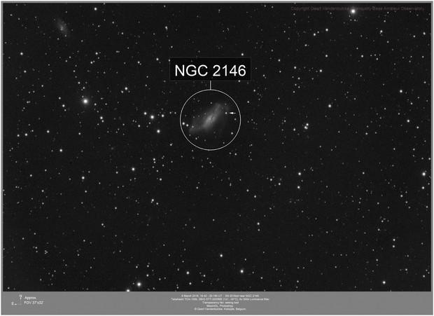 NGC2146 and SN2018zd, 20180308