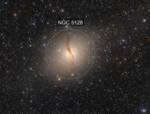 NGC5128 Centaurus A