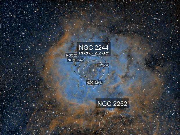 NGC 2238 Rosette Nebula