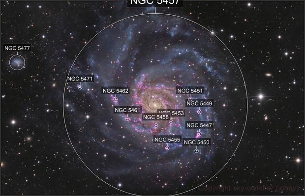 M101 Ha-LRGB