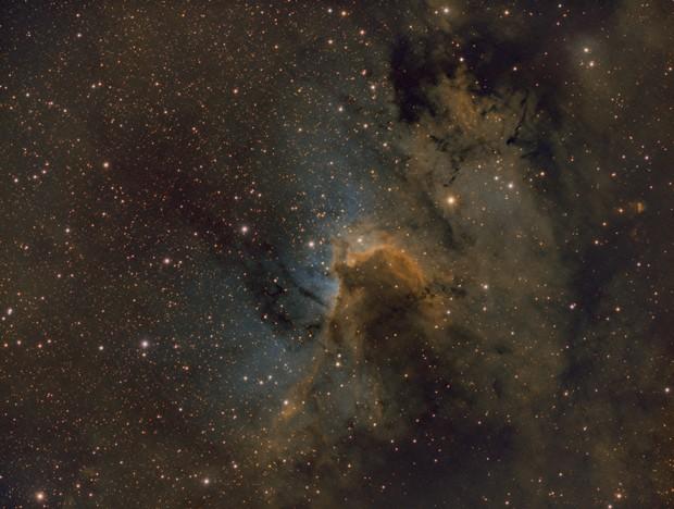 LBN 529 SHO/Hubble