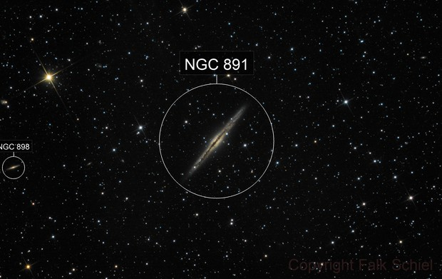 NGC 891 - Silver Sliver Galaxy
