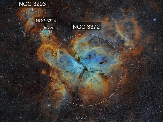 NGC3372 Carina Nebula