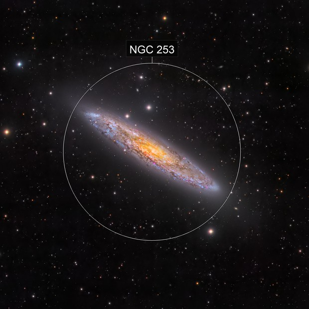 NGC 253 - DSW-South