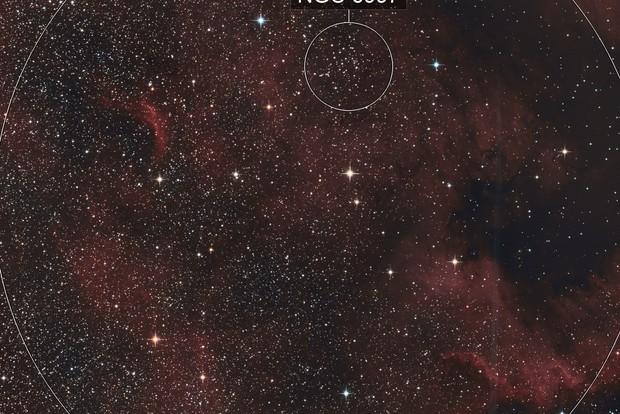Deep dive in NGC7000