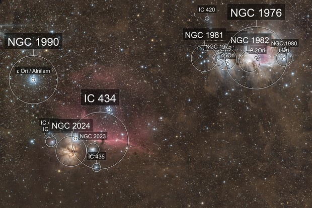 M42 & IC434