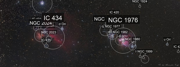 Orion two Panel Mosaic