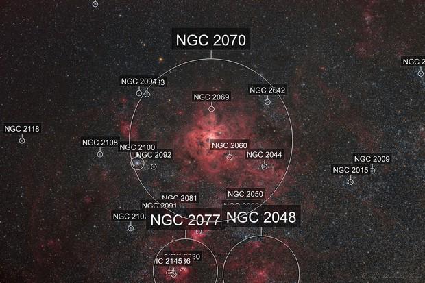 NGC2070 Tarantelnebel