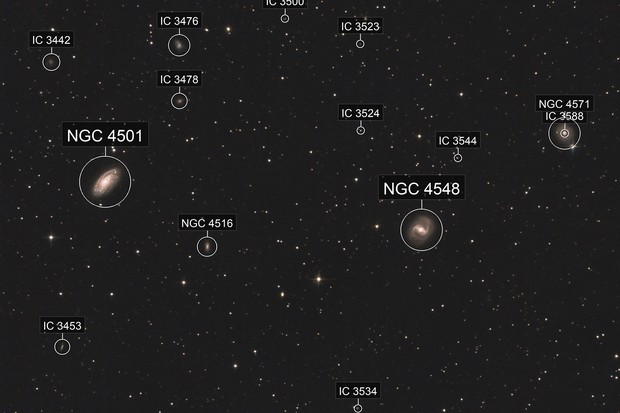 M88 and M91 - Coma Berenices