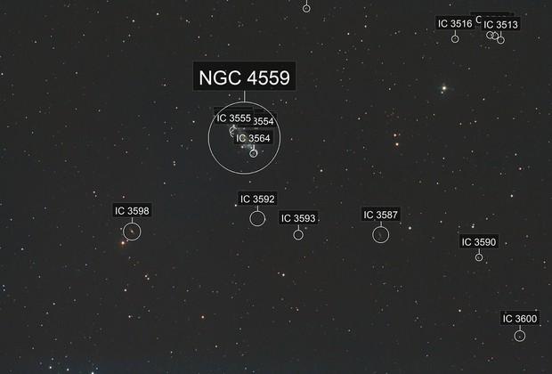 NGC 4559 - Caldwell 36
