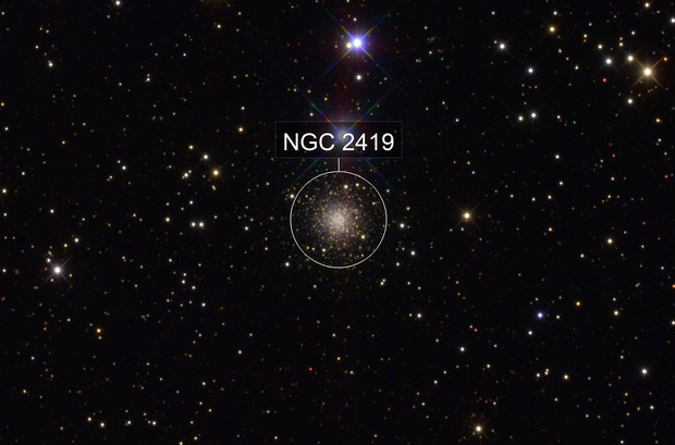 NGC2419 in SDSS gri band