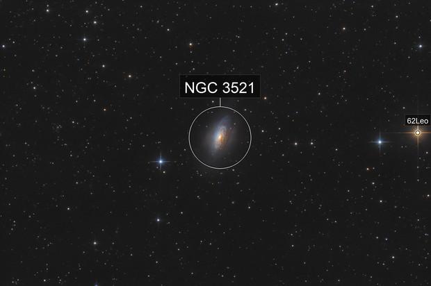 NGC 3521 - The Bubble Galaxy