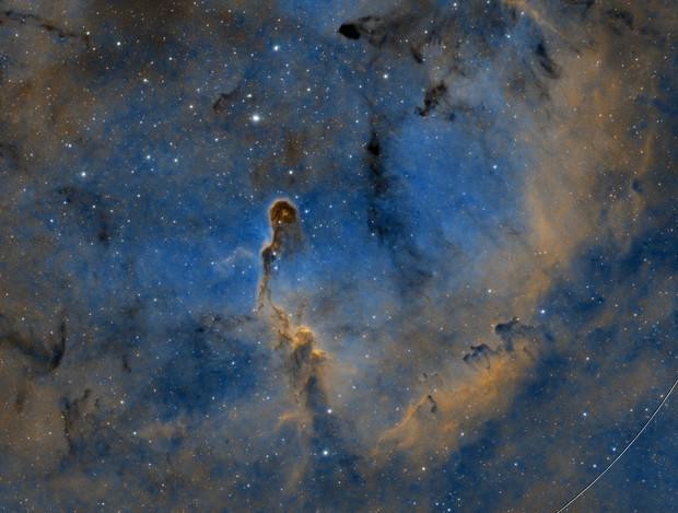 IC 1396 - Elephant Trunk Nebula