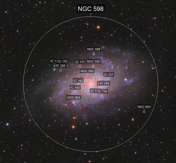 The Triangulum Galaxy M33